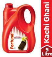 Fortune Kachi Ghani Mustard Oil Jar 5Ltr