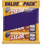 Cadbury 5 Star Caramel Value Pack Of 3 120G