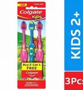 Colgate Kids 2 Plus Tooth Brush Buy 2 Get 1
