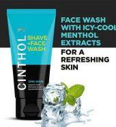 Cinthol  Cool Wave Shaving Face Wash 100G