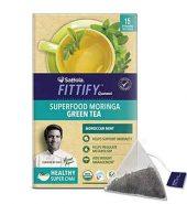 Saffola Mint Morning Green Tea 38G