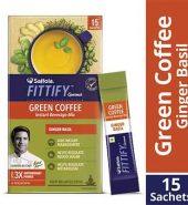 Saffola Ginger Basil Ground Coffee 30G