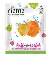 Fiama Di Wills Pink Puff Loofah Pack Of 1