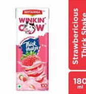Britannia Strawberry Shake Tetra Pack 180Ml