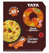 Tata Q Heat To Eat Spicy Chicken Biryani 330Gm