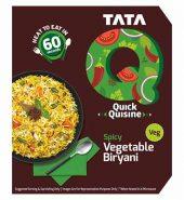 Tata Q Heat To Eat   Spicy Vegetable Biryani   330G