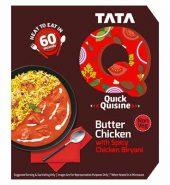 Tata Q Heat To Eat Butter Chicken With Spicy Chicken Biryani 330Gm