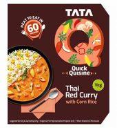 Tataq Thai Red Curry With Corn Rice 330G