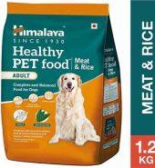 Himalaya Healthy Meat & Rice Adult Dog Food 1.2Kg