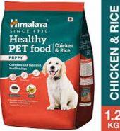 Himalaya Healthy Chicken & Rice Puppy  1.2Kg